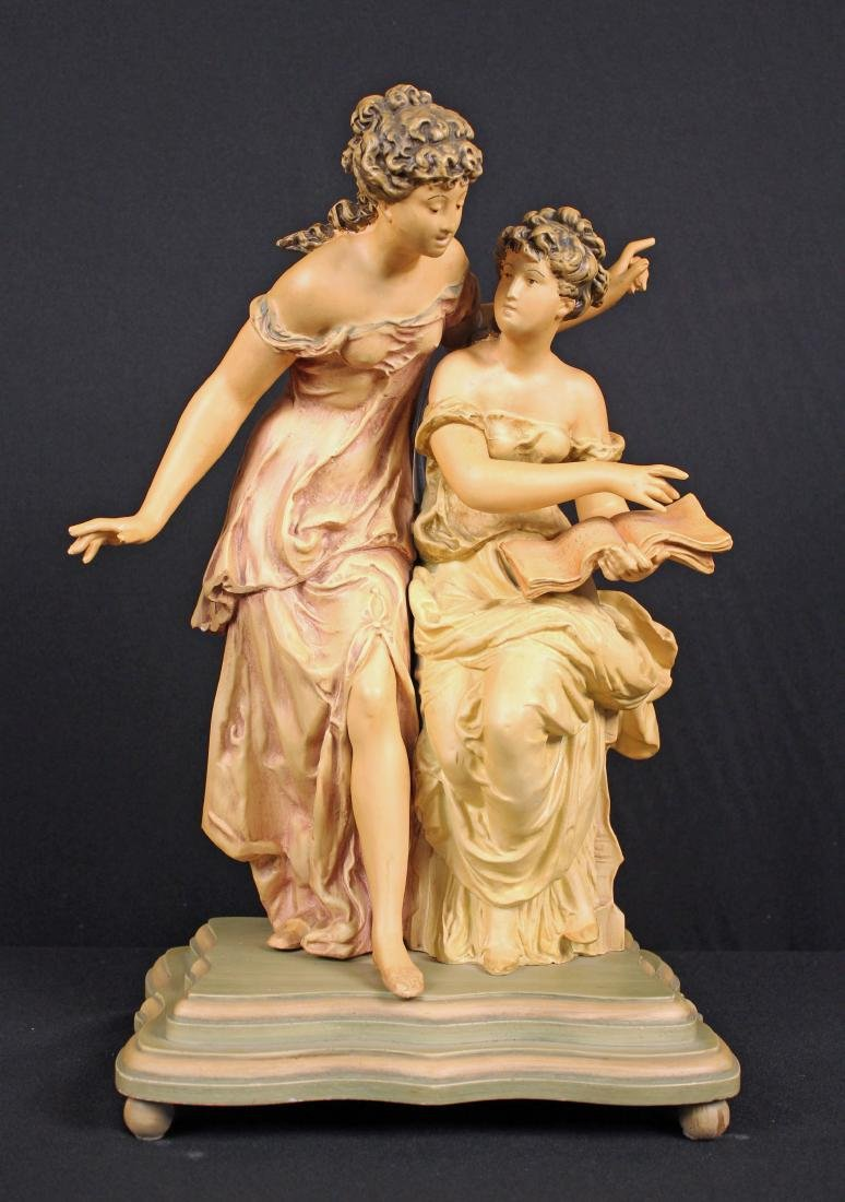 Collection Francaise Spelter Statue