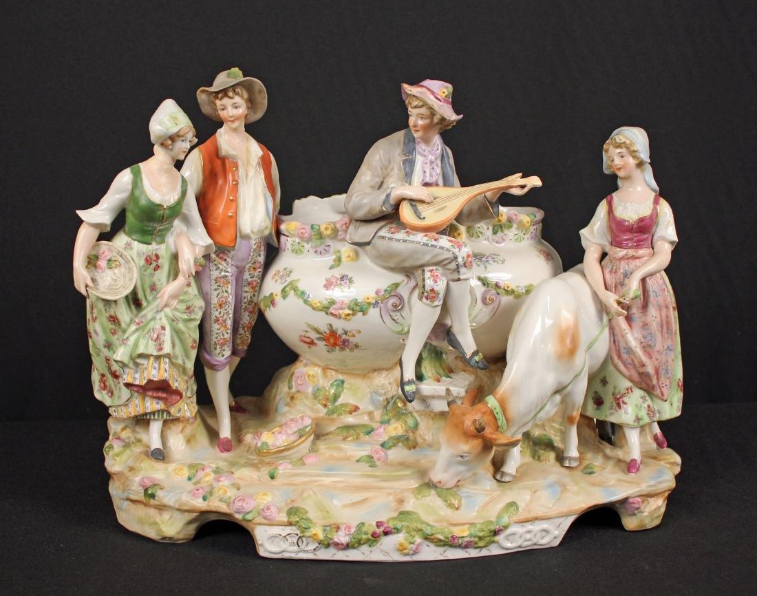 19th C. Porcelain Centerpiece Attr. to Meissen