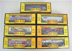 7 O Scale Rail King MTH Cars