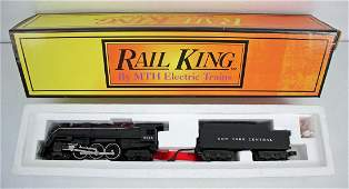 O Modern Rail King MTH NYC Steam Loco #20-1103