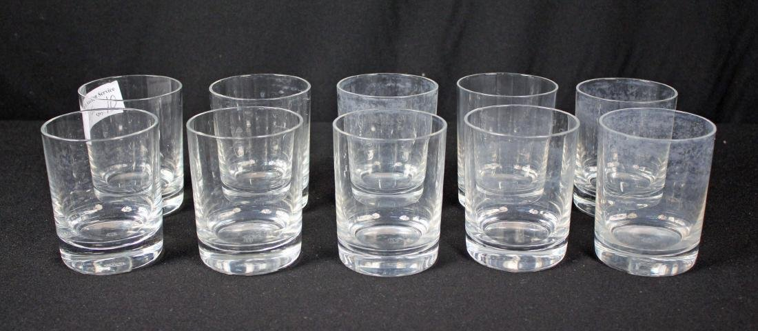 Set of 10 Baccarat Perfection Tumblers 9.5 oz