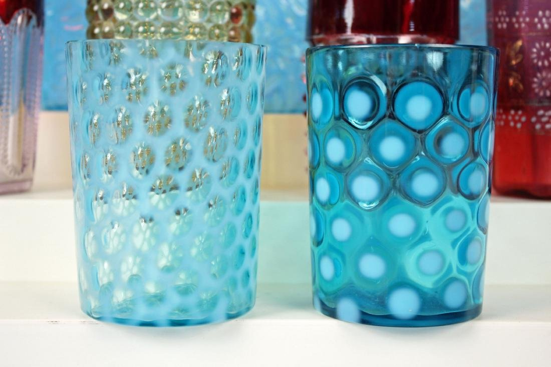 11 Tumblers in Assorted Colors and Patterns - 2