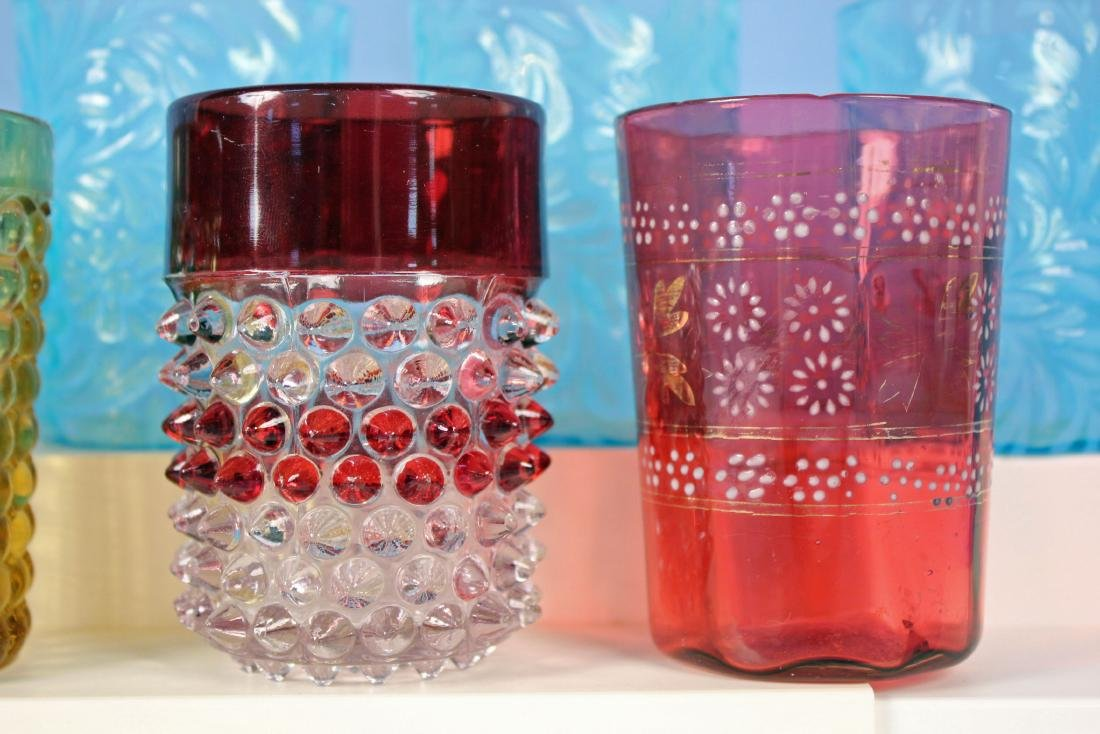11 Tumblers in Assorted Colors and Patterns - 3