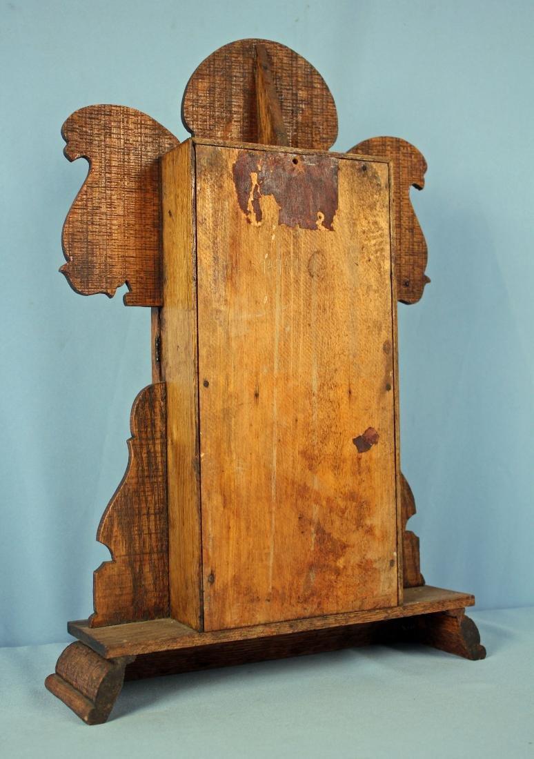 Ingraham Old Dominion Oak Clock w/ Capital Dome - 6