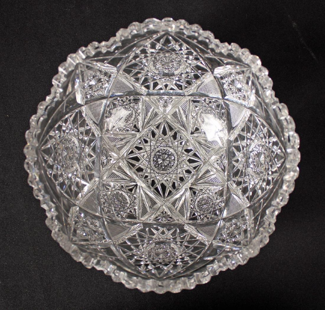 Two Cut Glass Bowls - 2