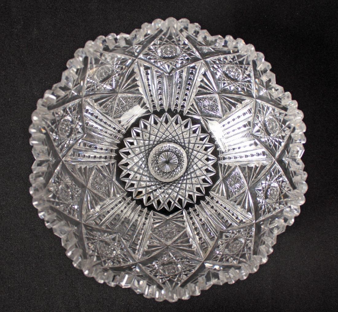 Two Cut Glass Bowls - 3