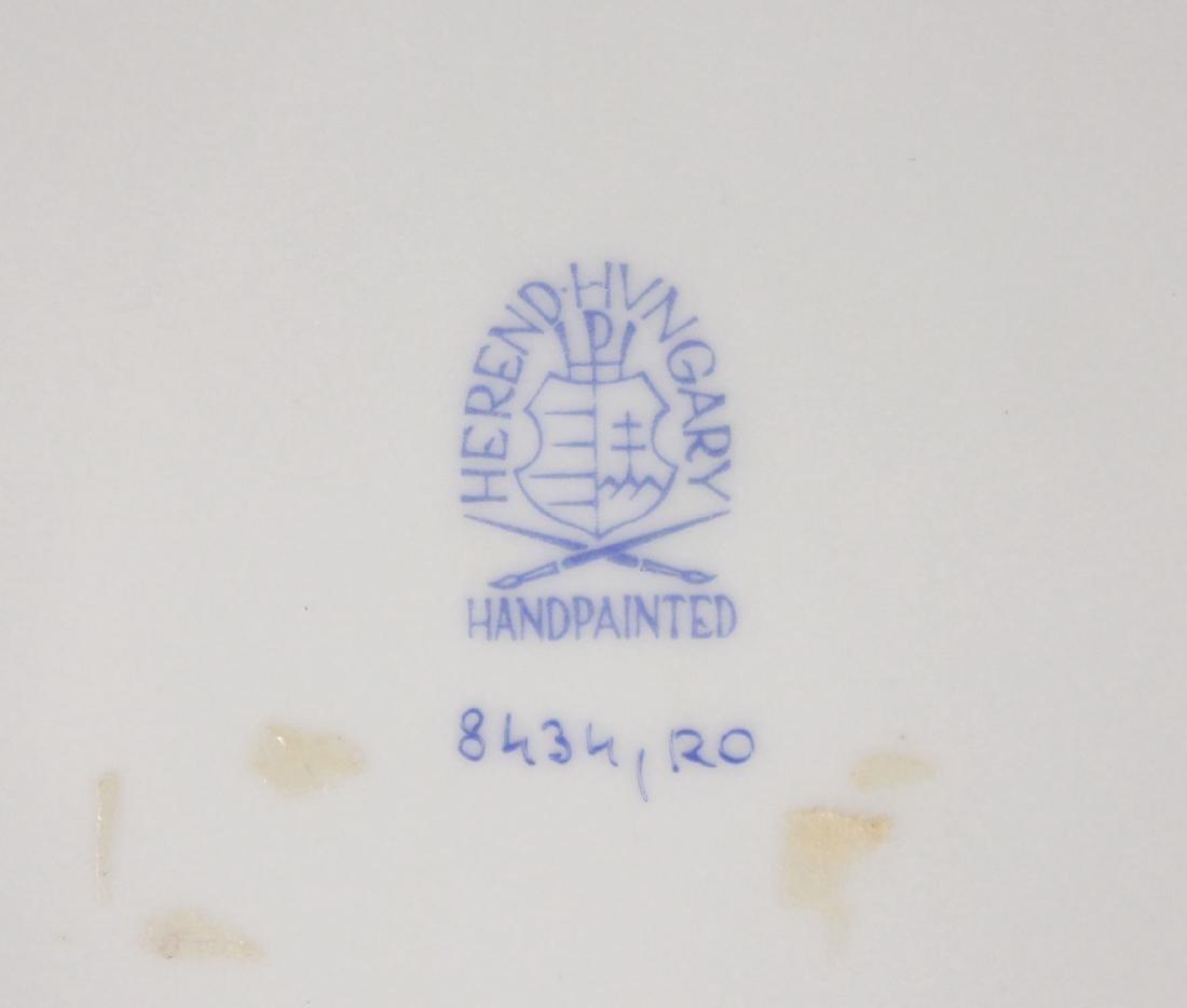 Herend Rothschild (RO) 8434 Reticulated Bird Plate - 5