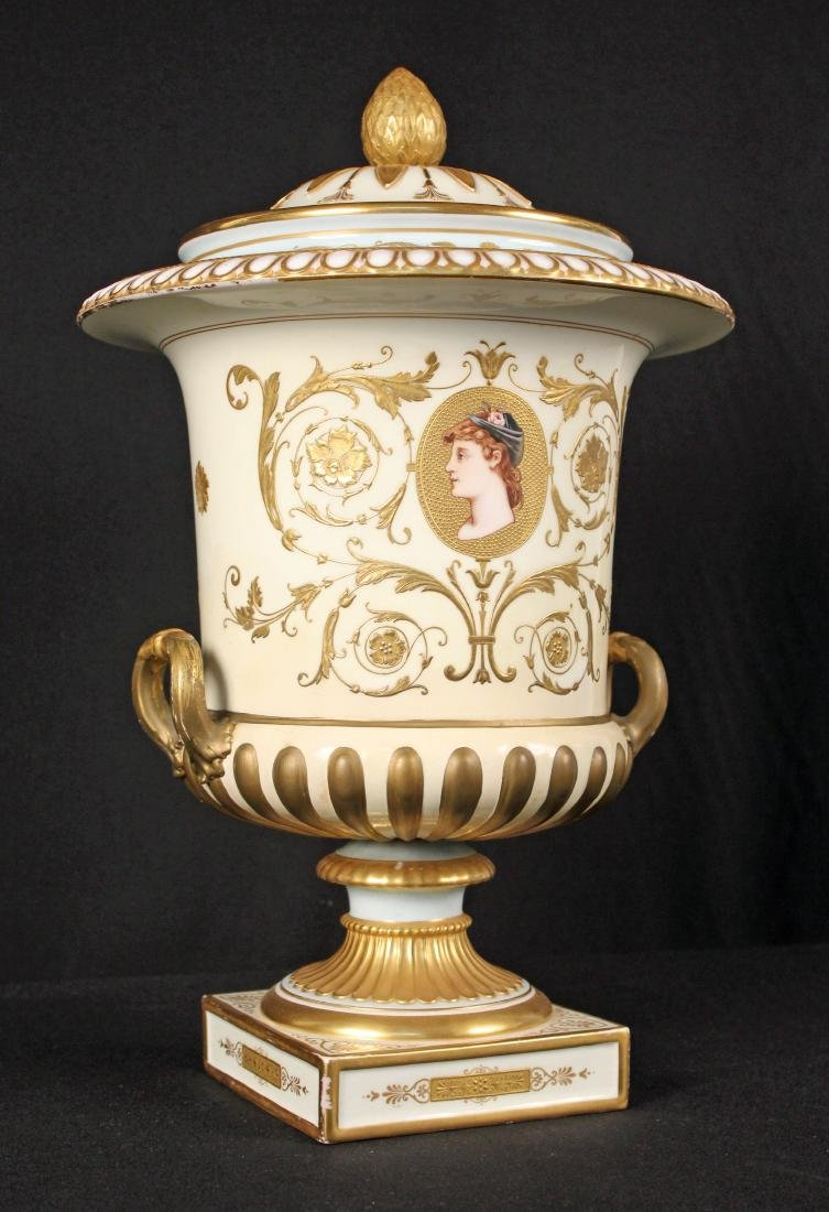 Wedgwood  Campagna Urn with Handles Circa 1900