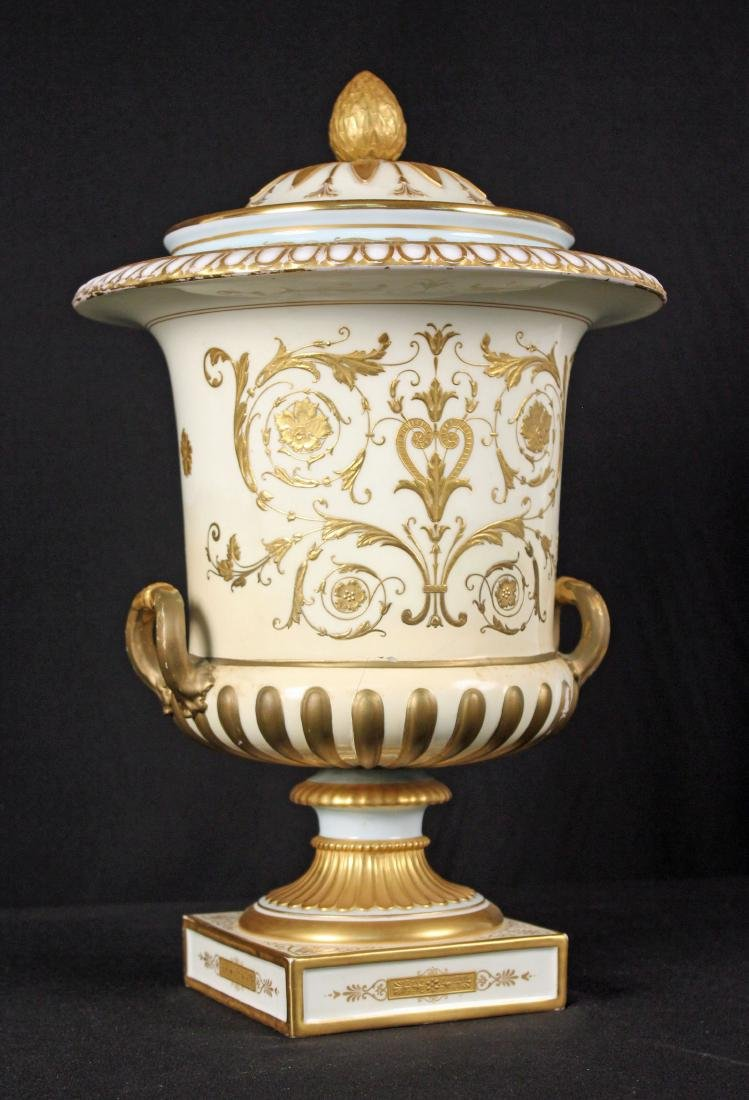 Wedgwood  Campagna Urn with Handles Circa 1900 - 7