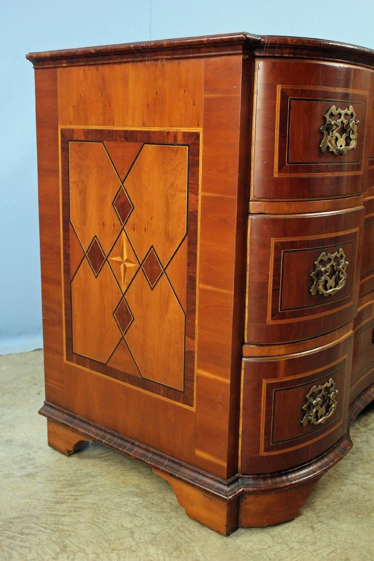 Alfonso Marina Baviera Three Drawer Inlaid Chest - 8