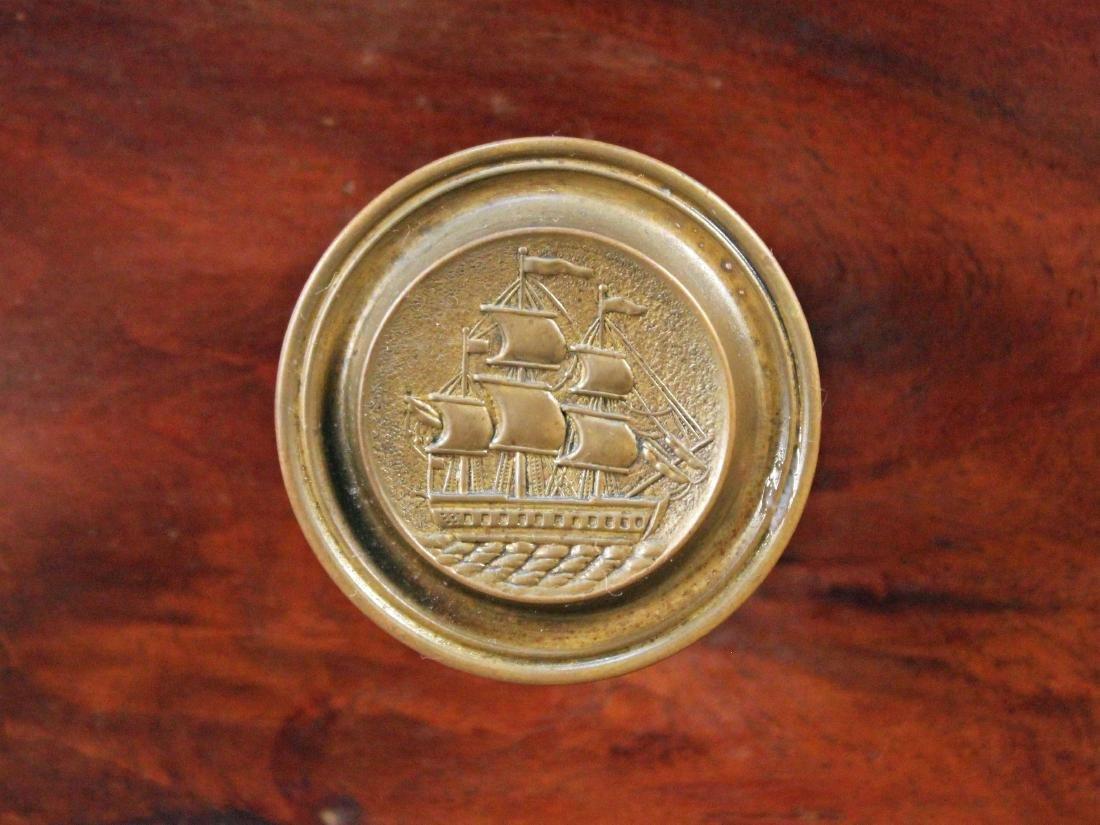 Circa 1835 Federal Mahogany Stepback Cupboard - 2