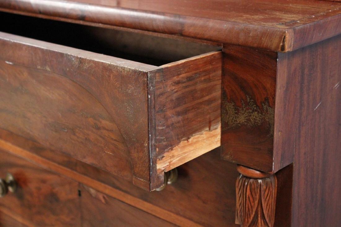 Circa 1835 Federal Mahogany Stepback Cupboard - 4