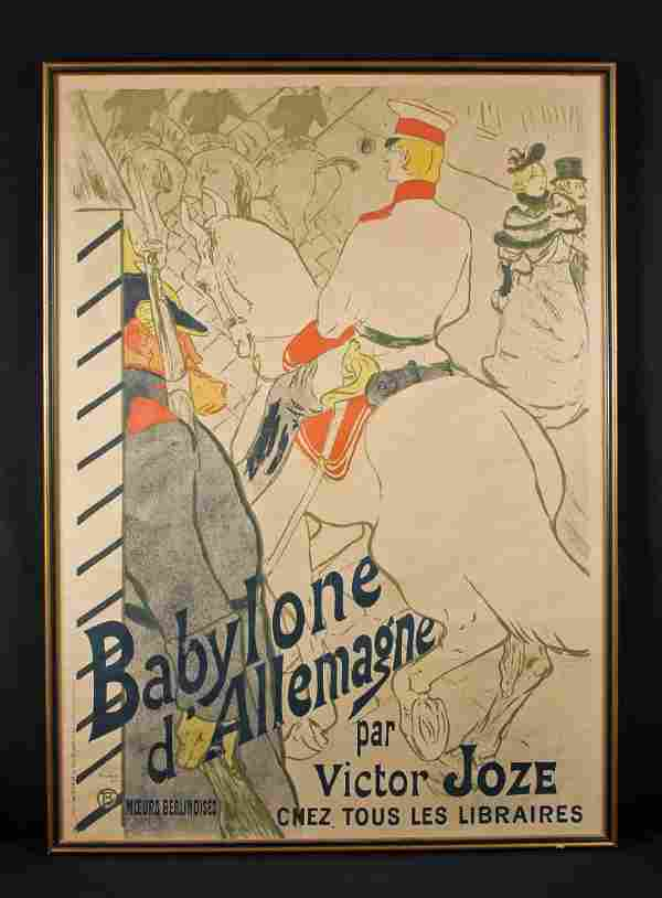 Henri De Toulouse-Lautrec, Poster Babylone 1894