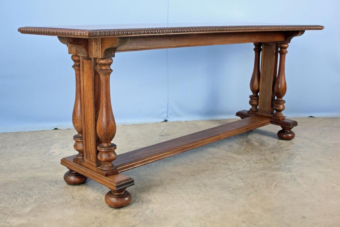 Circa 1920 Mahogany Davenport or Window Table