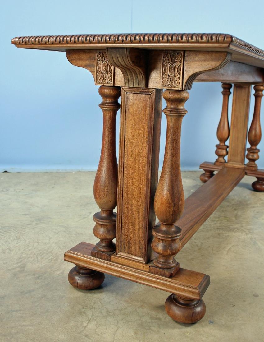Circa 1920 Mahogany Davenport or Window Table - 2