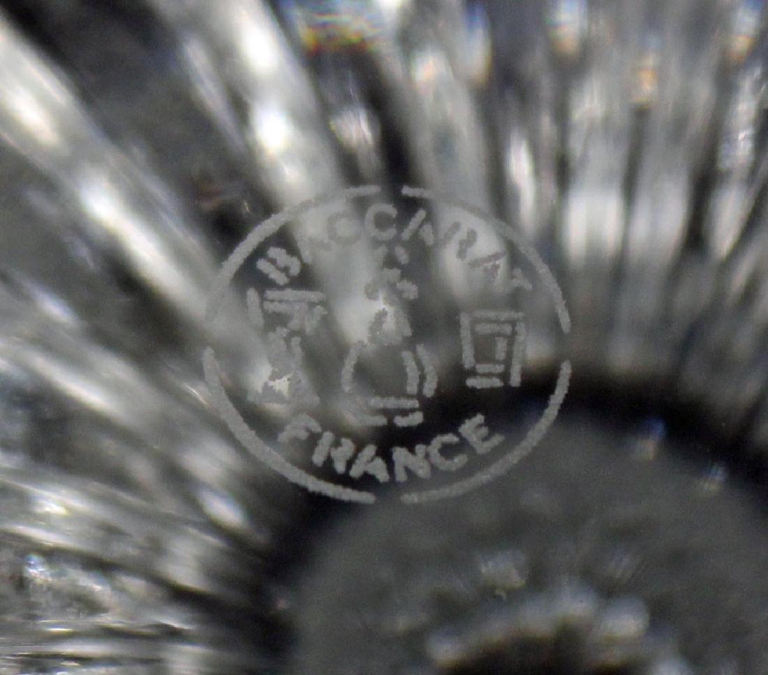 Six Baccarat, Massena Pattern Crystal Wine Glasses - 3