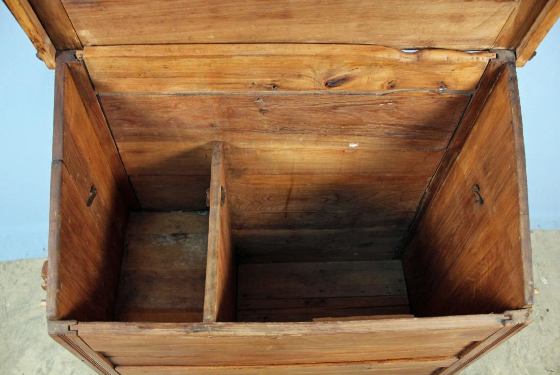 19th Century Meal and Flour Bin w/ Fold-Out Board - 3