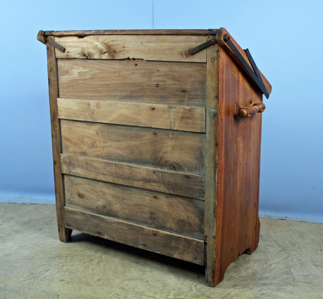 19th Century Meal and Flour Bin w/ Fold-Out Board - 6