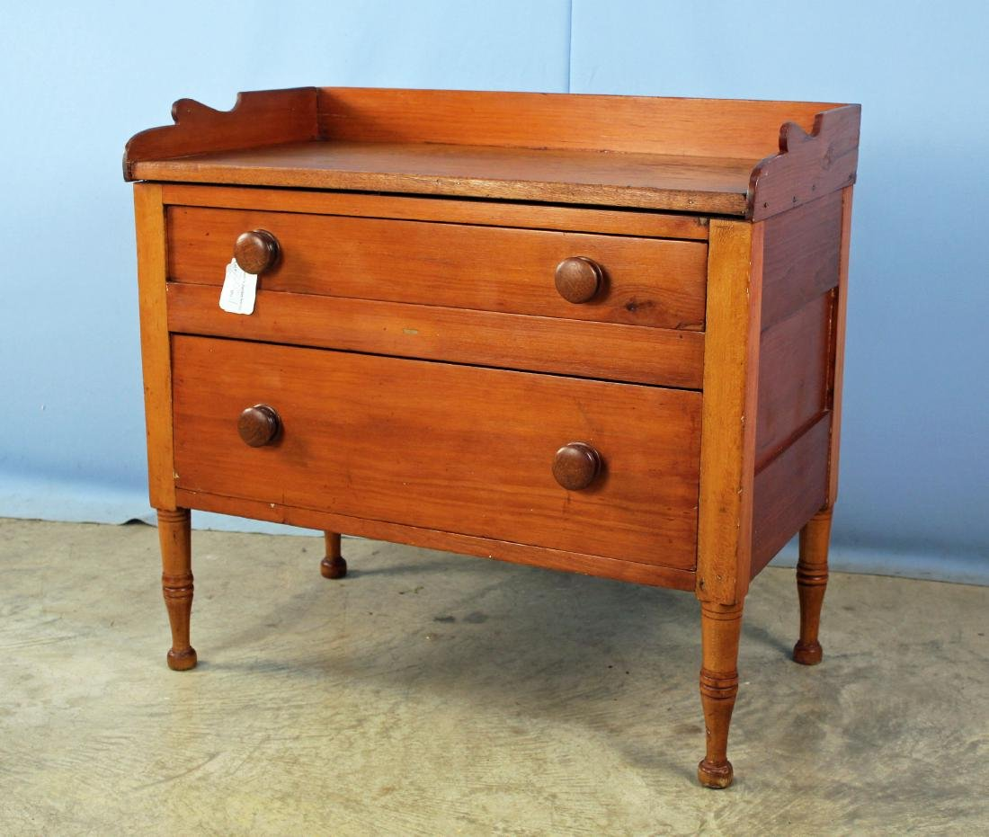 Tennessee Mixed Woods Washstand Circa 1840