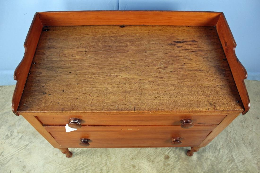 Tennessee Mixed Woods Washstand Circa 1840 - 2