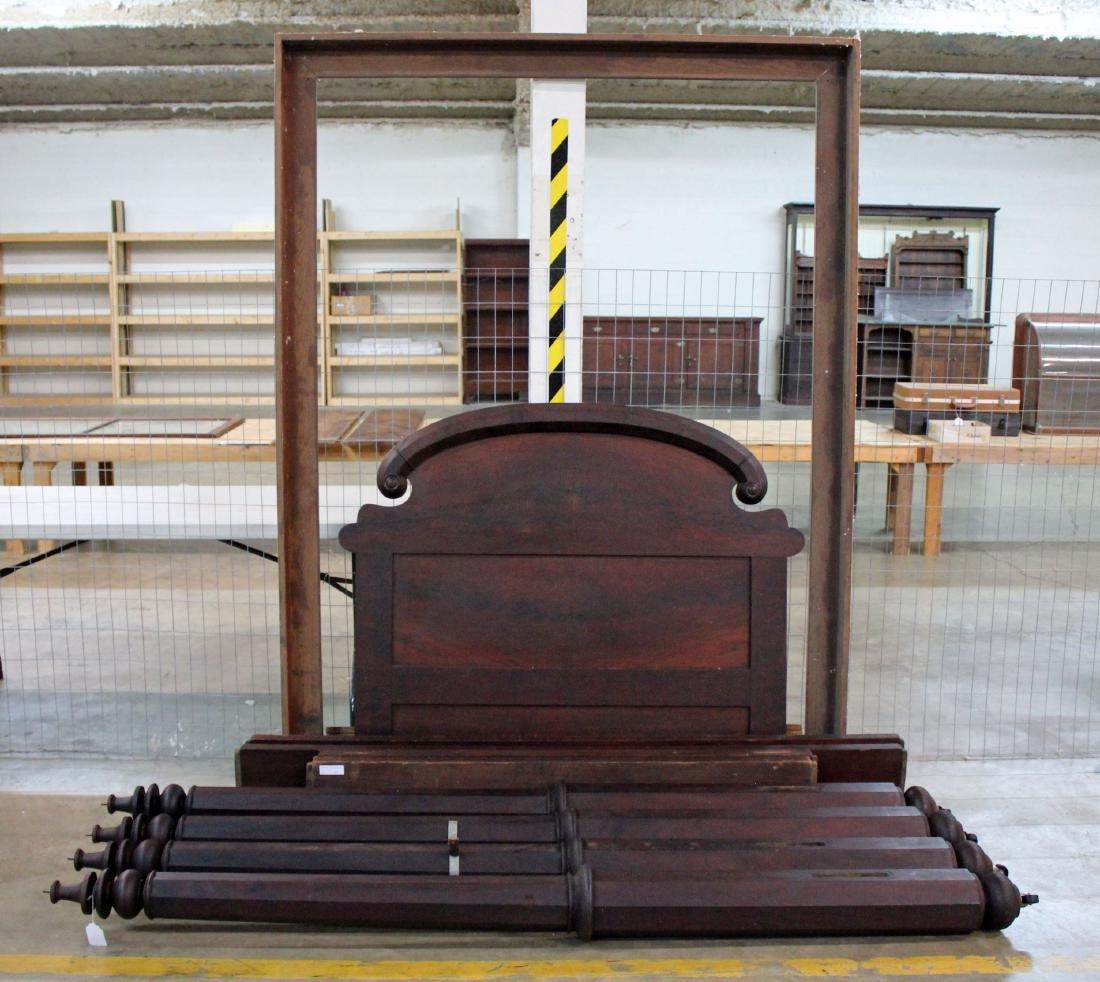 Mahogany Tester Bed Circa 1850