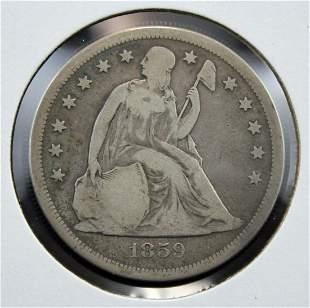 1859-O U.S. Silver Dollar