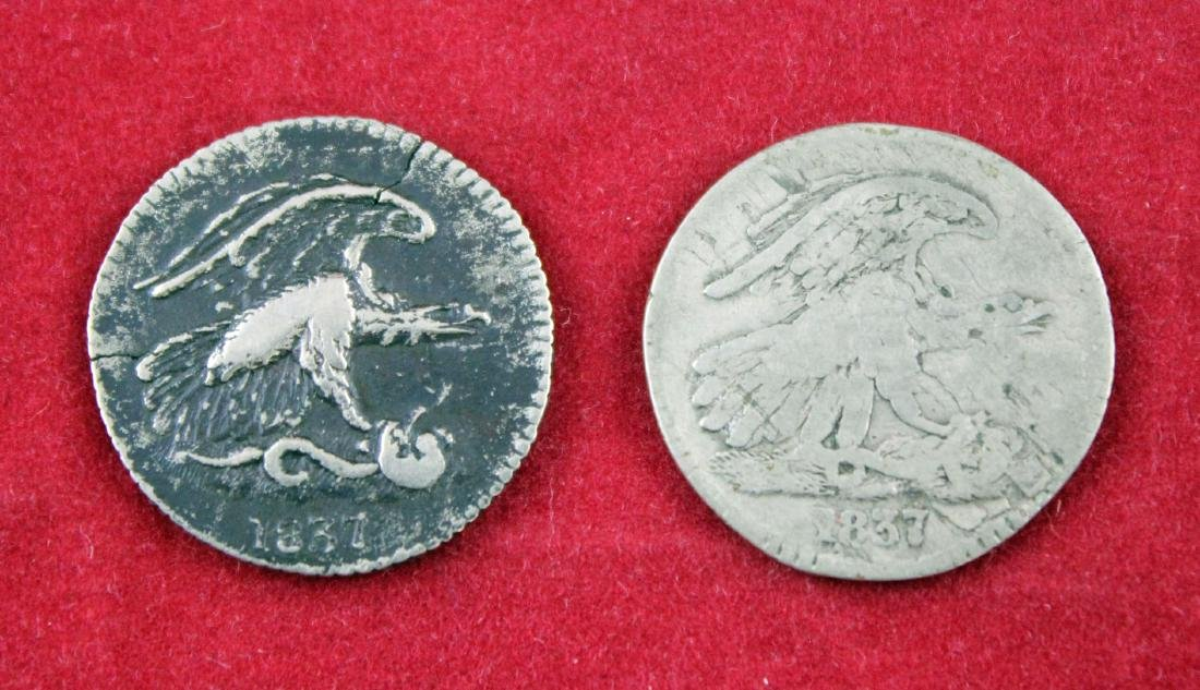 1837 Feuchtwanger Cent Tokens