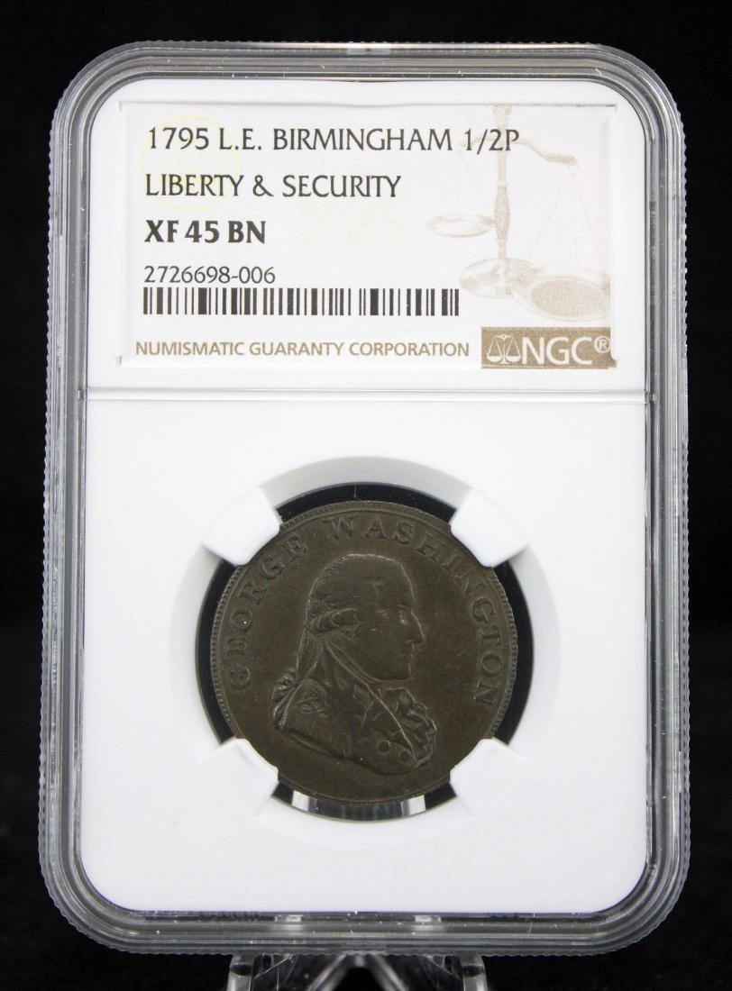 1795 Washington 1/2 Penny