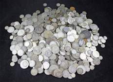 Bulk Silver of Foreign Coins