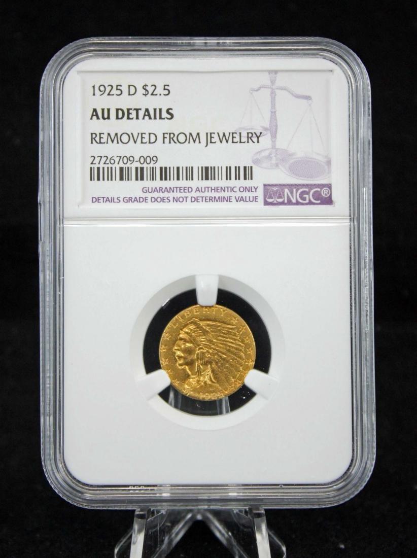 1925-D U. S. $2.50 Gold Coin