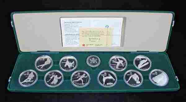 1988 Canada Olympic Winter Games Proof Set