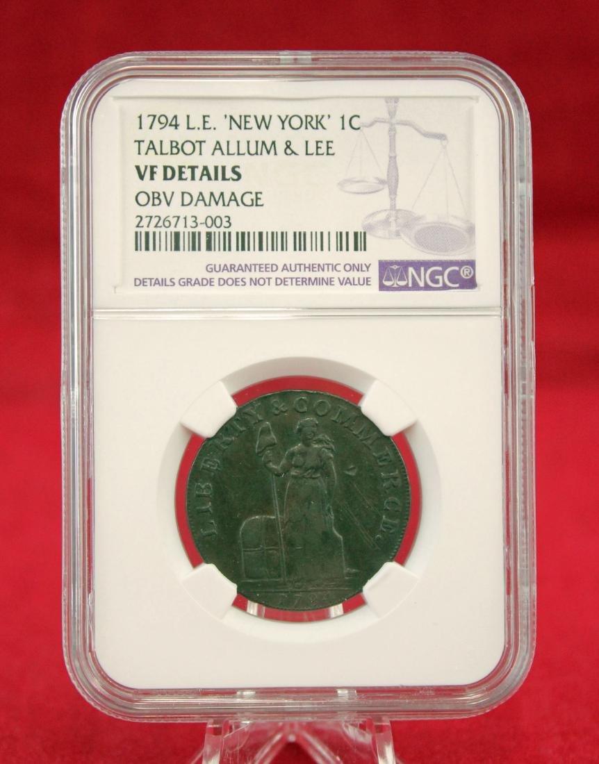 1794  Talbot, Allum & Lee Cent