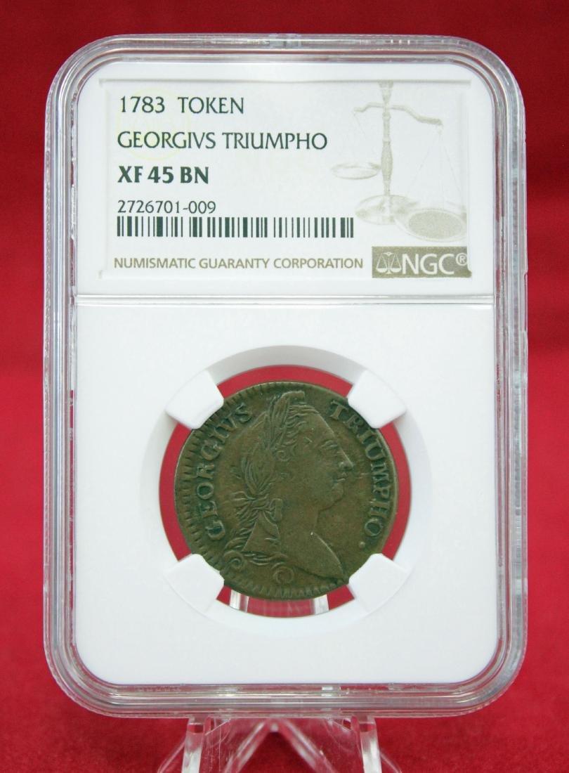 1783 Georgivs Triumpho Token