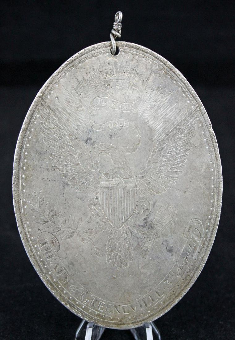 1795 Treaty of Greenville, Ohio Indian Peace Medal
