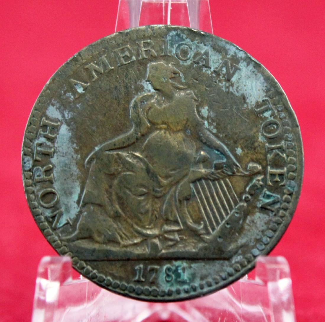 1781 North American Token