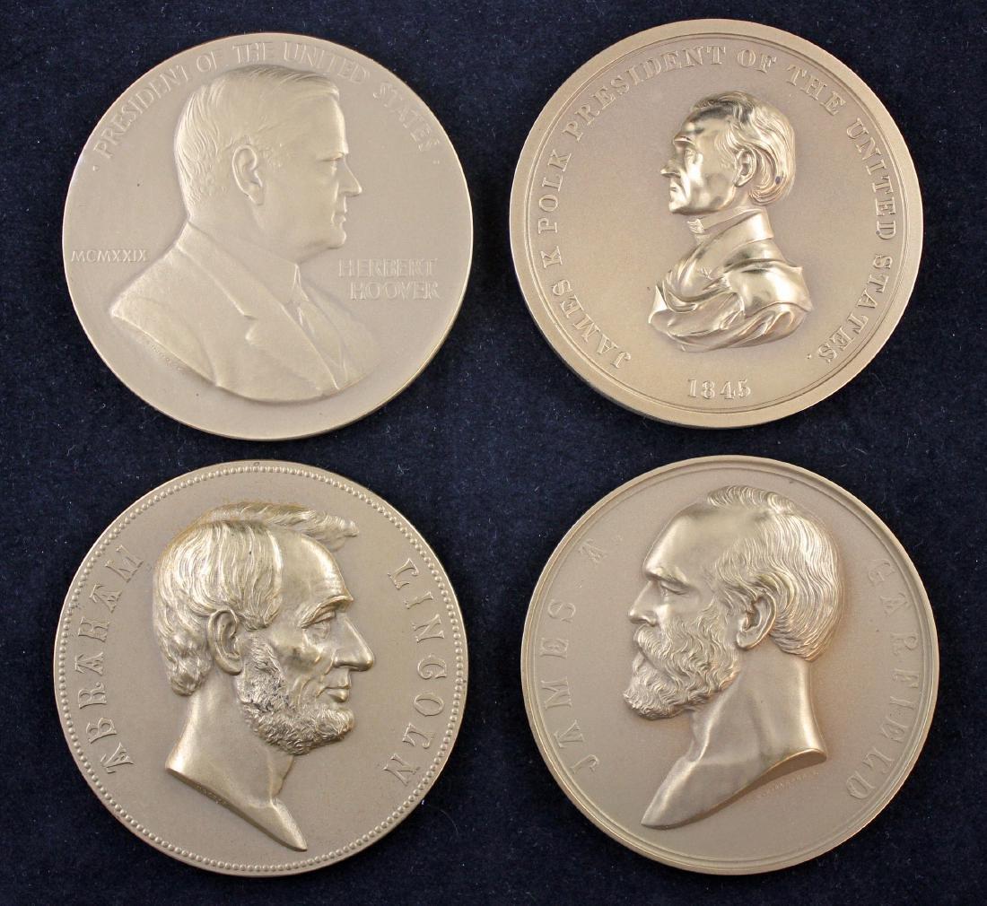 Four U. S.  Mint Medals