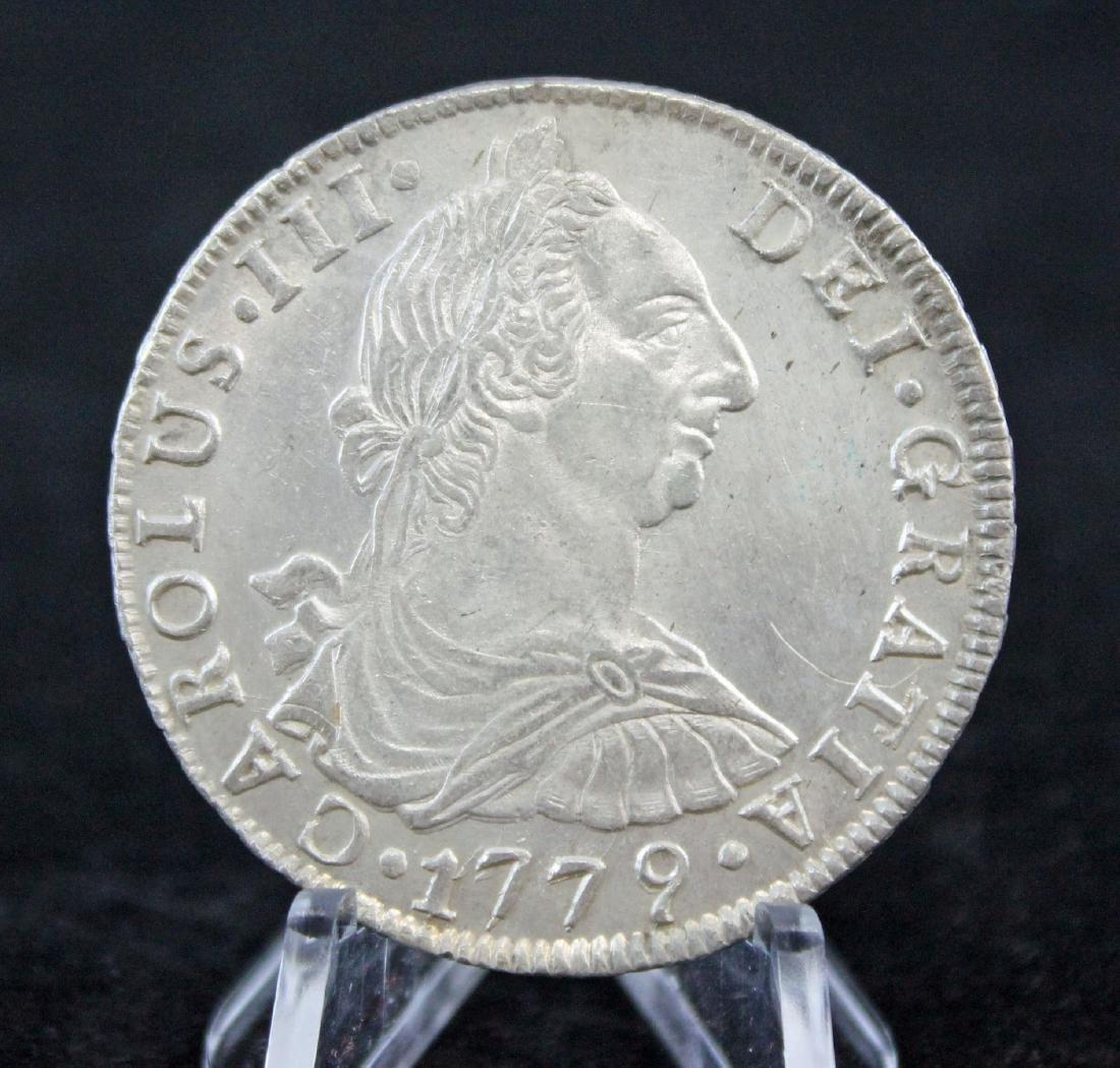 1779  Bolivia, Silver 8 Reales