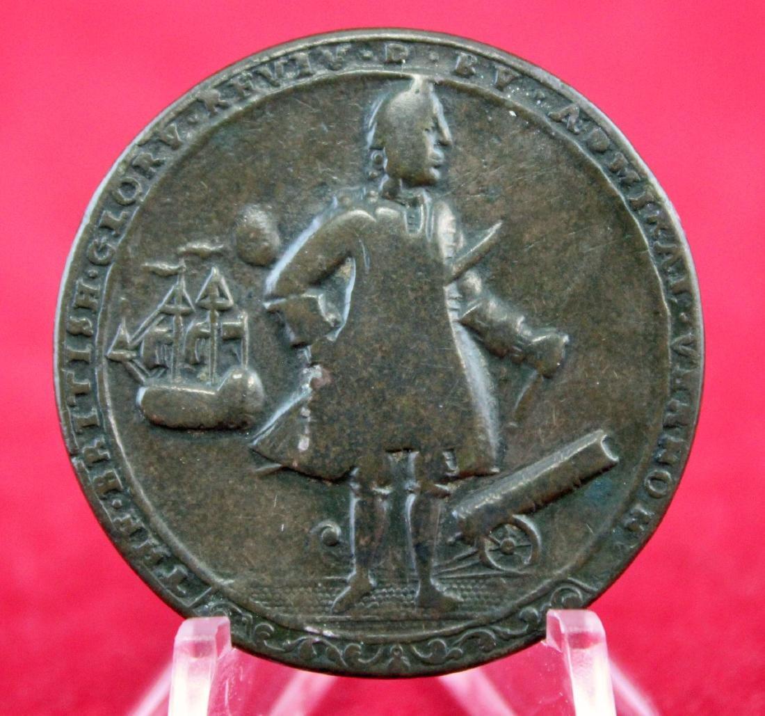 1789 Admiral Vernon Medal