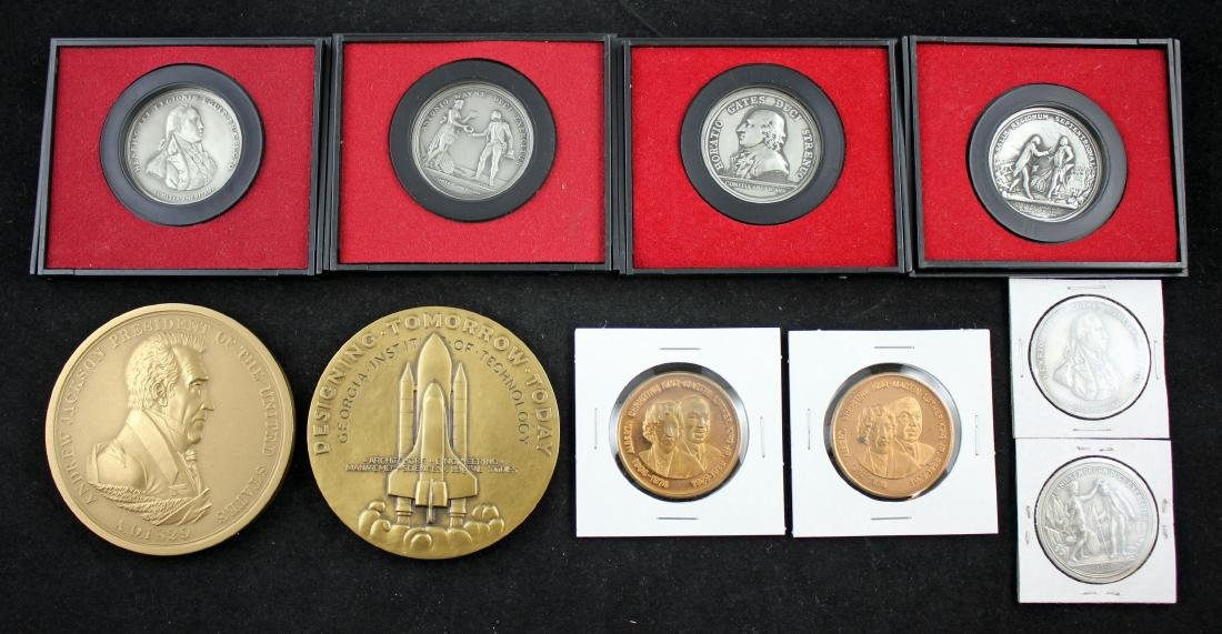 1 Presidential Medal, 2 Martin Luther King Medals