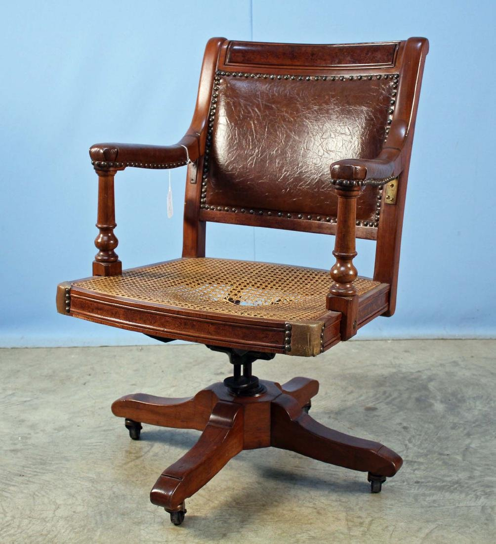 Marshall-Jackson Co. Walnut Office Chair