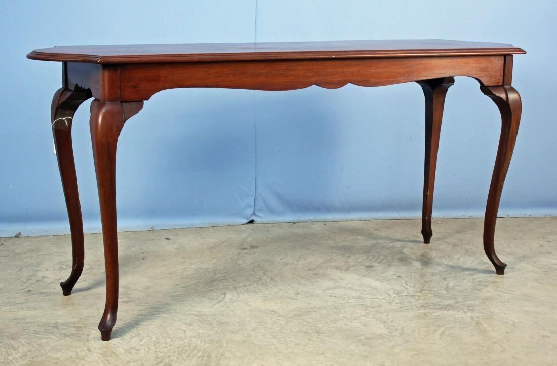 Queen Anne Walnut Window Table