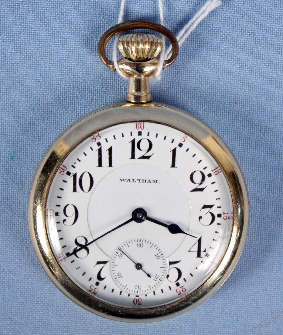21 Jewel Waltham Pocket Watch Model #645