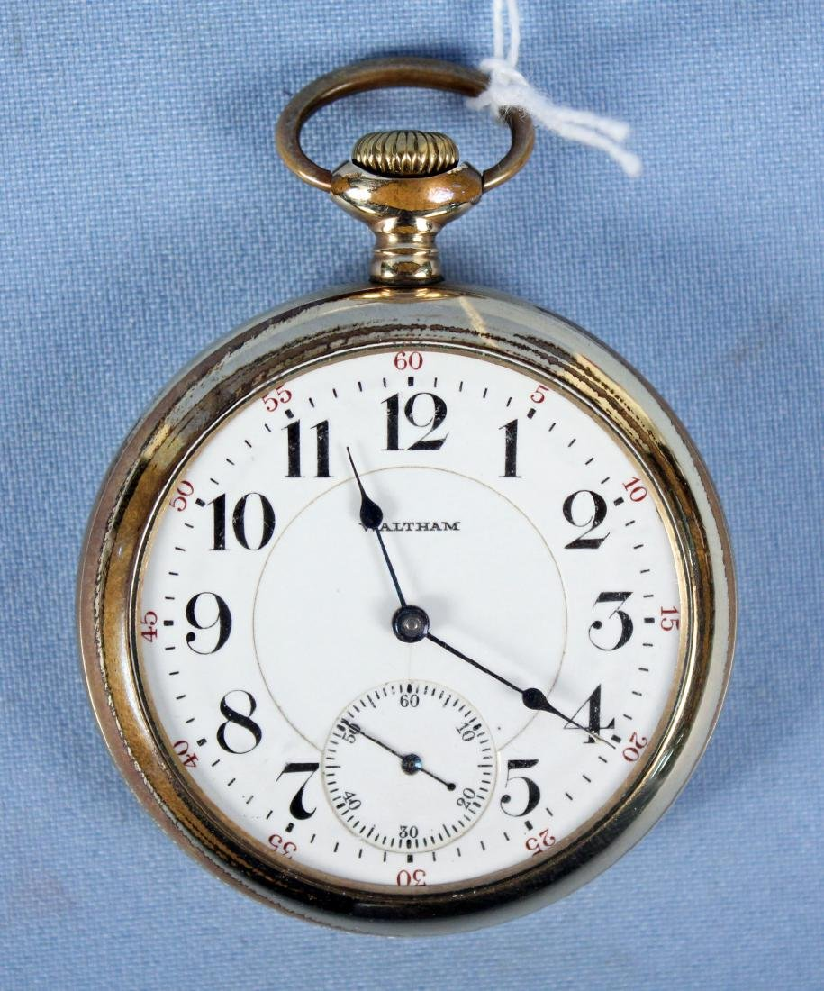 21 Jewel Waltham Pocket Watch Model #845