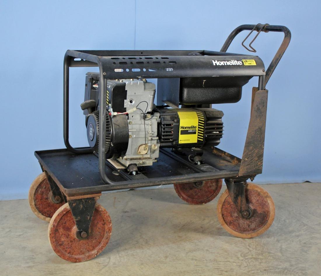Homelite 4400 Watt Gas Generator On Cart