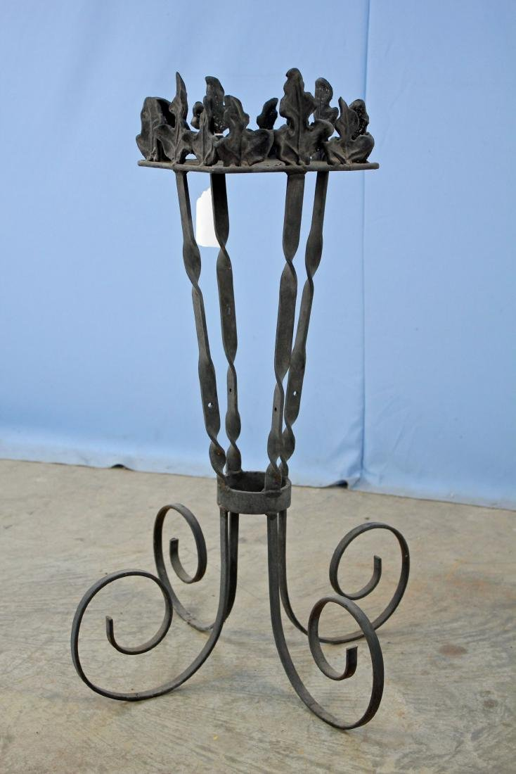 Wrought Iron Flower Planter