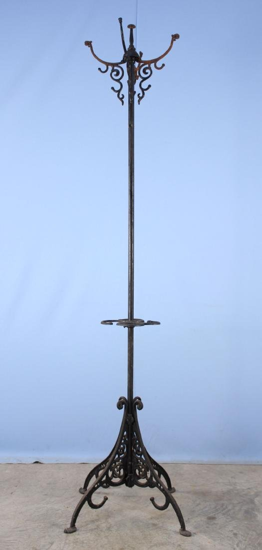 Cast and Metal Hat Rack / Umbrella Stand