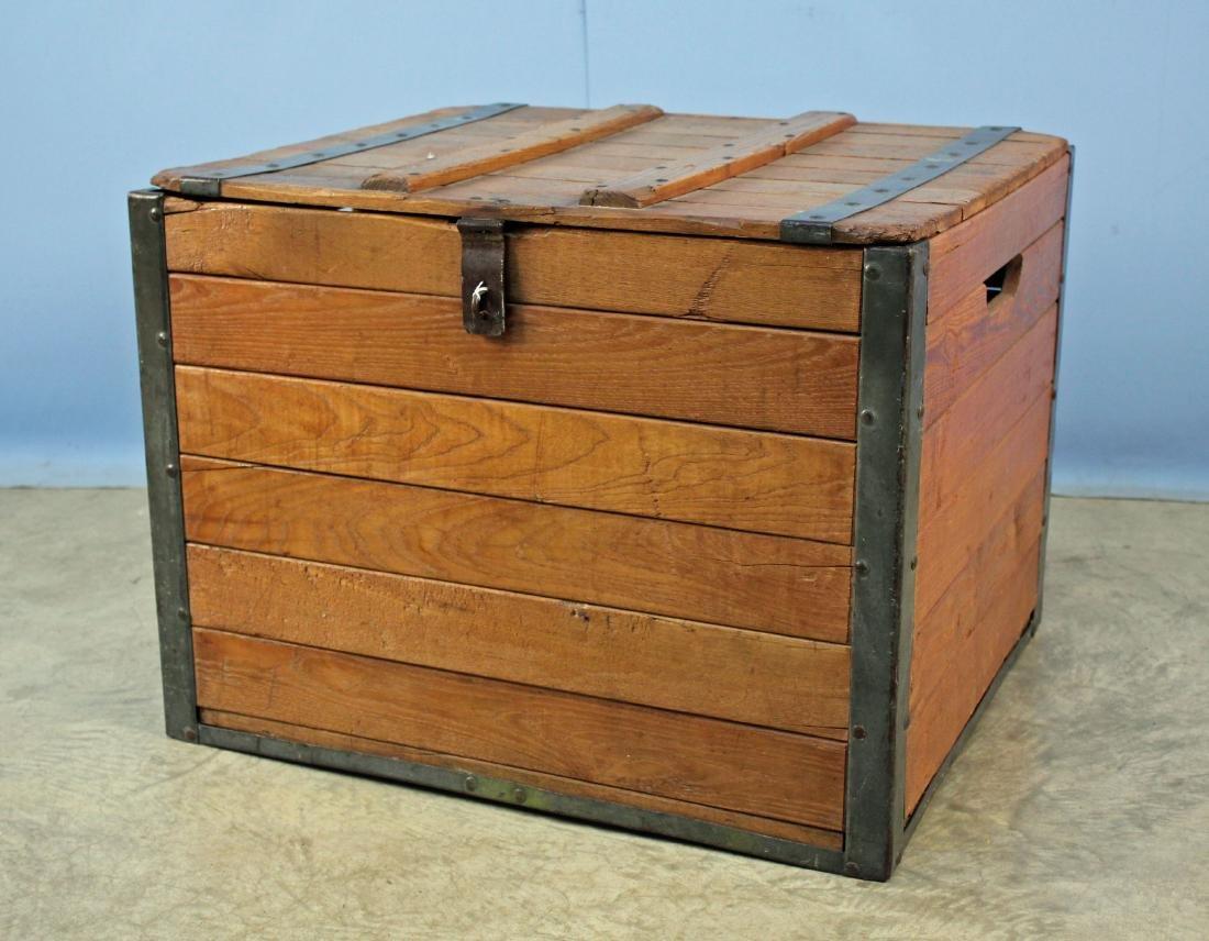 Oak Shipping Crate Manufactured Birmingham, AL
