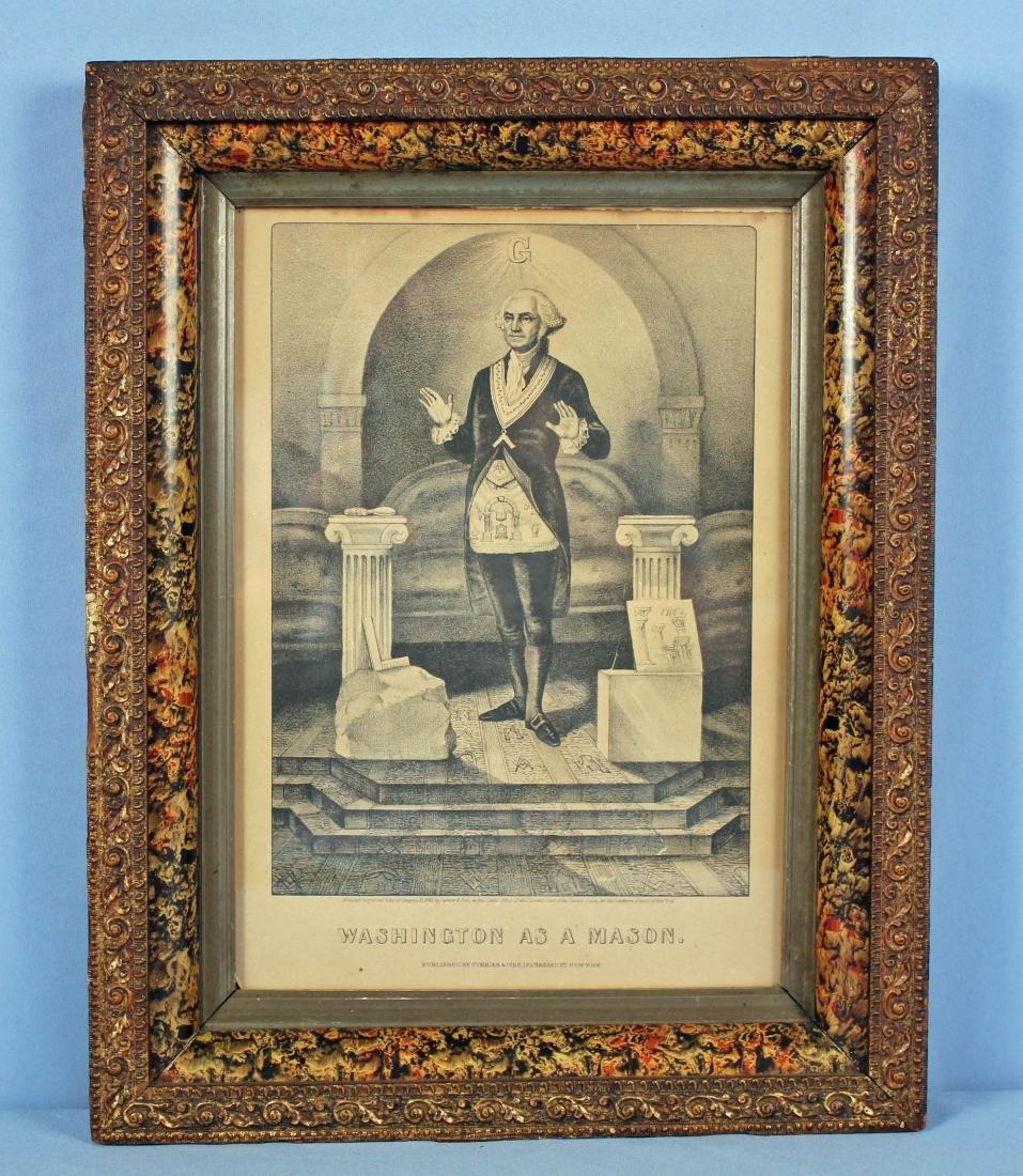 Currier & Ivies 1868 George Washington Mason Print
