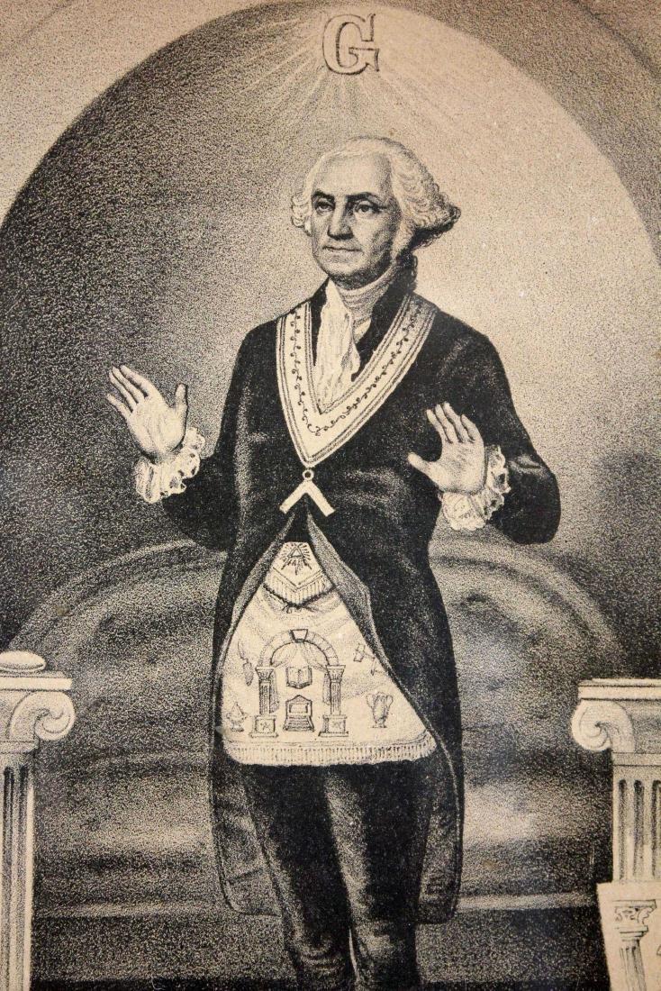 Currier & Ivies 1868 George Washington Mason Print - 3