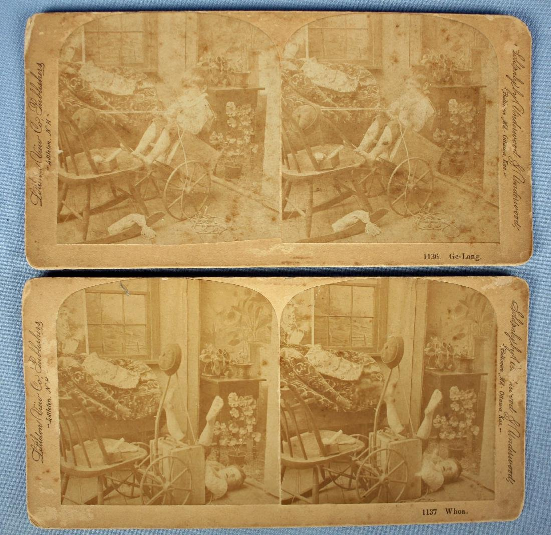 Two Stereoscopic Viewers with Approx. 120 Cards - 5